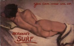 You can miss me at Bernard's Surf Postcard