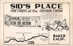 Sid's Place fine foods at the Chevron Station