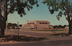 Gymnasium Building - University of California - Home of the California Aggies Postcard