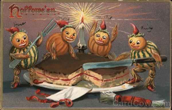 Pumpkins Cutting Cake: Hallowe'en Series 150 Halloween