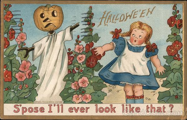 Jack O'Lantern Scarecrow: Hallwe'en Halloween