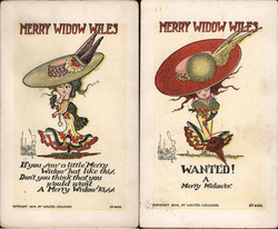 Set of 2: Merry Widow Wiles Series 2050