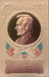 A. Lincoln - In memory of the centennial anniversary of his birth Postcard