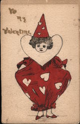 To My Valentine Postcard