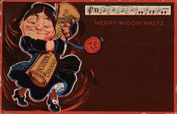 Merry Widow Waltz Postcard