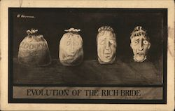 Evolution of the Rich Bride Postcard