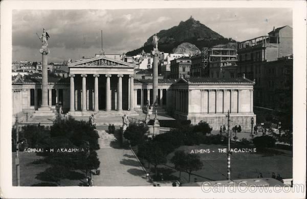 Aerial View of Athens Greece Greece, Turkey, Balkan States