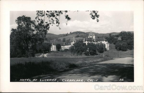 Hotel at Lucerne Clearlake California