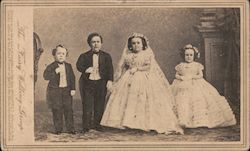 "Rare: ""The Fairy Wedding Group"" Original Photograph"