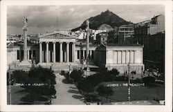 Aerial View of Athens Postcard