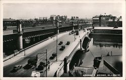 George V. Bridge Postcard