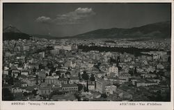 Birdseye View of Athens Postcard