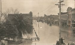 Street Scene after Flood