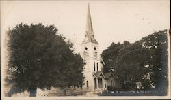 M E Church Postcard