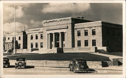 Lassen County Court House Postcard