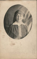 Red Cross Nurse Postcard