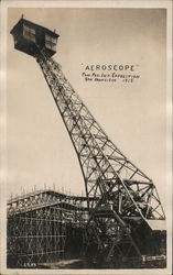 """Aeroscope"" Pan-Pac Int. Exposition Postcard"