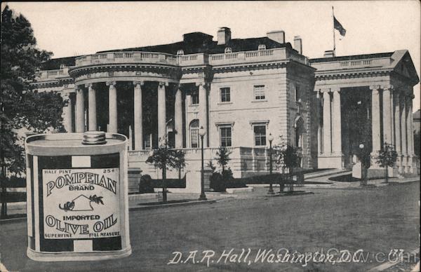 D.A.R. Hall Washington District of Columbia Washington DC