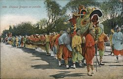 Chinese Dragon on parade Postcard
