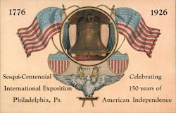 Sesqui-Centennial International Exposition Postcard