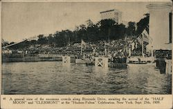 Crowd at the Hudson-Fulton Celebration Postcard