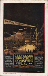 Cleveland Industrial Exposition 1909 Postcard