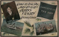 Perry's Victory Centennial Celebration July 6th to 12th Postcard