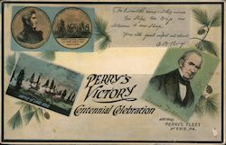 Perry's Victory Centennial Celebration Postcard