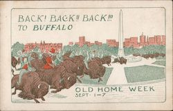 Old Home Week Sept. 1-7 Postcard