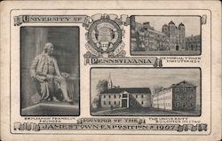 University of Pennsylvania, Jamestown Exposition of 1907 Postcard