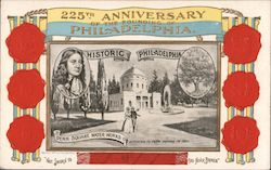 225th Anniversary of the Founding of Philadelphia, Penn Square Water Works, 1801 Postcard