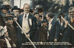 Alaska-Yukon-Pacific Exposition ground breaking ceremonies Postcard