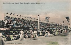 The Reviewing Stand, Baby Parade Postcard