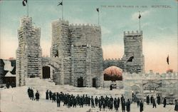 The New Ice Palace in 1909 Postcard