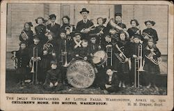 The Jolly Entertainers at Little Falls, Washington Postcard