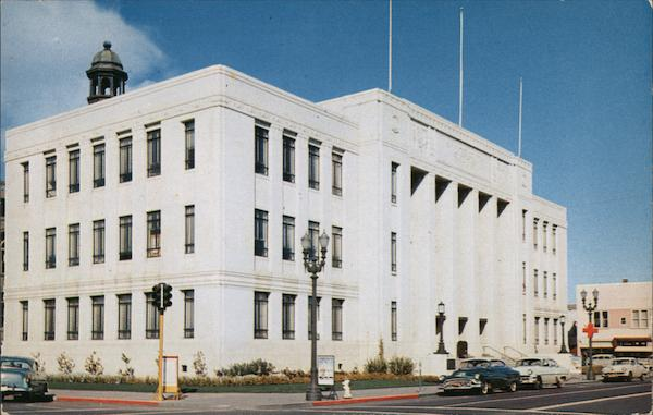 San Mateo County Court House Redwood City California