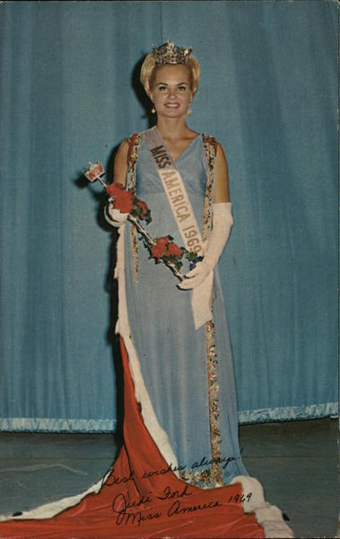 Judith Anne Ford - Miss America 1969 Atlantic City New Jersey