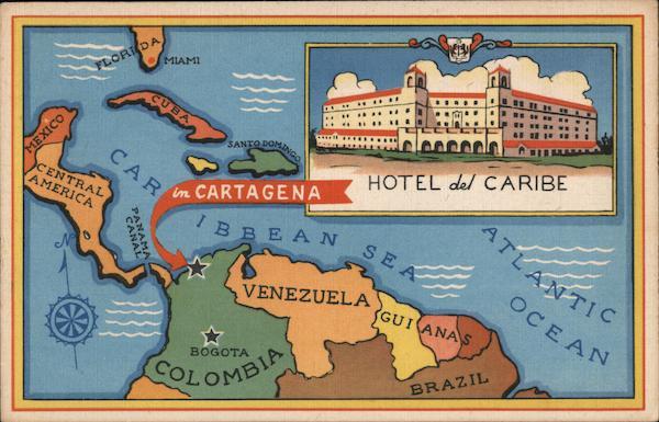 Hotel del Caribe Cartagena Colombia South America