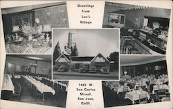 Greetings from Lou's Village Postcard