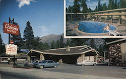 Cabana Motel and pool - Elmer's House of Pancakes