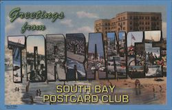 Greetings from Torrance South Bay Postcard