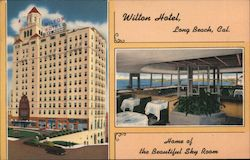 WIlton Hotel, Home of the Beautiful Sky Room Postcard