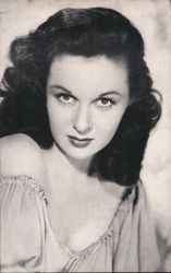 Susan Hayward - Picture with response and price guide Postcard