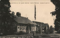 Birthplace of Clara Barton Postcard