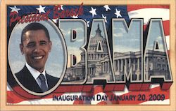 President Barack Obama -Inauguration Day January 20, 2009 Postcard