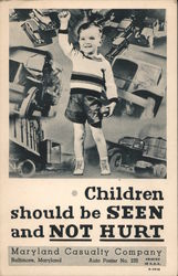 Child Safety Campaign - Maryland Casualty Company Postcard