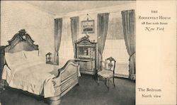 The Roosevelt House Bedroom Postcard