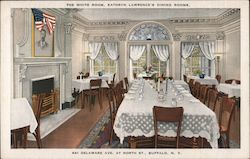 The White Room, Kathryn Lawrence's Dining Rooms Postcard