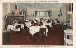 Ansley Wilcox Room, Kathryn Lawrence's Dining Room Postcard