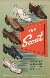 The Scout - Worn By Thousands of Active Women Postcard